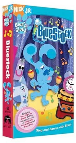 Blue's Clues: Bluestock (2004 VHS)