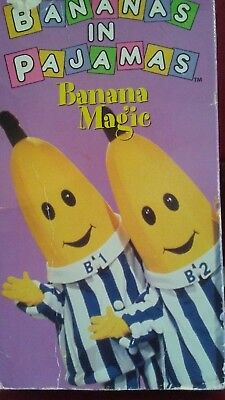 Bananas in Pajamas: Banana Magic (1997 VHS)