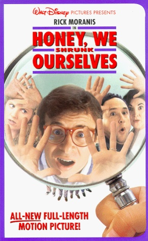 Honey We Shrunk Ourselves (1997 VHS)