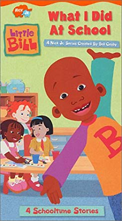Little Bill: What I Did At School (2001 VHS)
