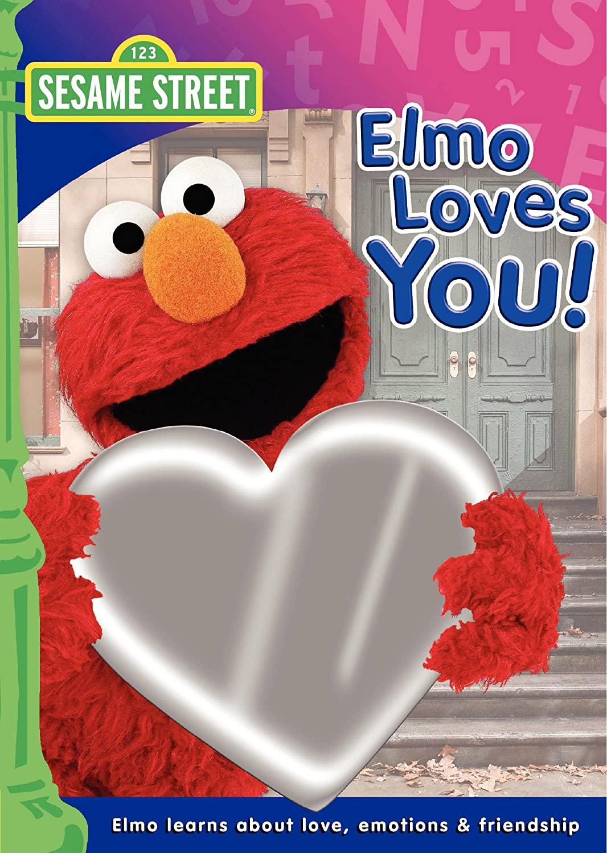 Sesame Street: Elmo Loves You! (2009 DVD)