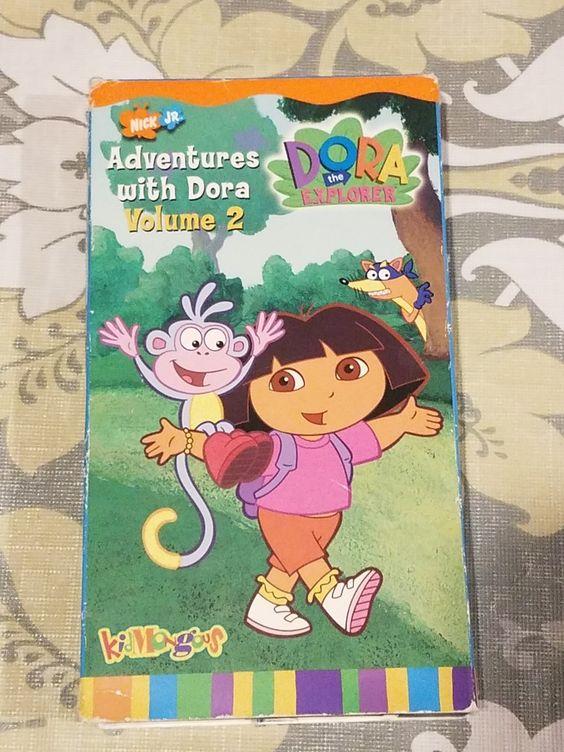 Dora the Explorer: Adventures with Dora Volume 2 (2002 VHS)
