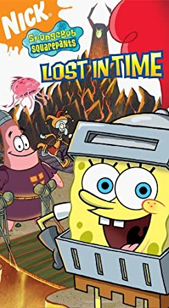 SpongeBob SquarePants: Lost in Time (2006 VHS)