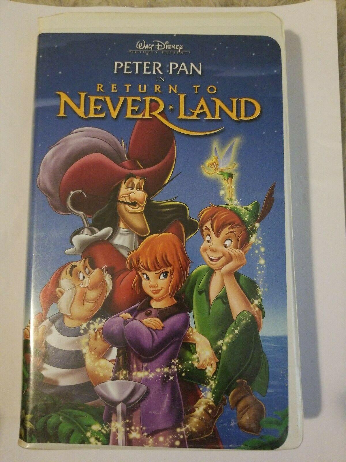 Return to Never Land (2002 DVD/VHS)