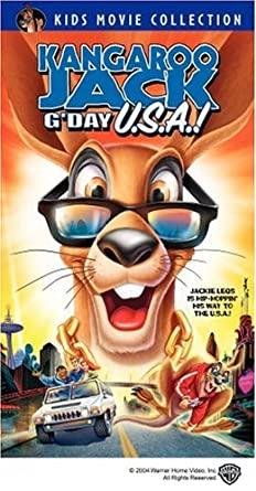 Kangaroo Jack: G'Day U.S.A.! (2004 VHS)