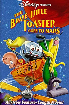 The Brave Little Toaster: Goes to Mars (VHS/DVD)
