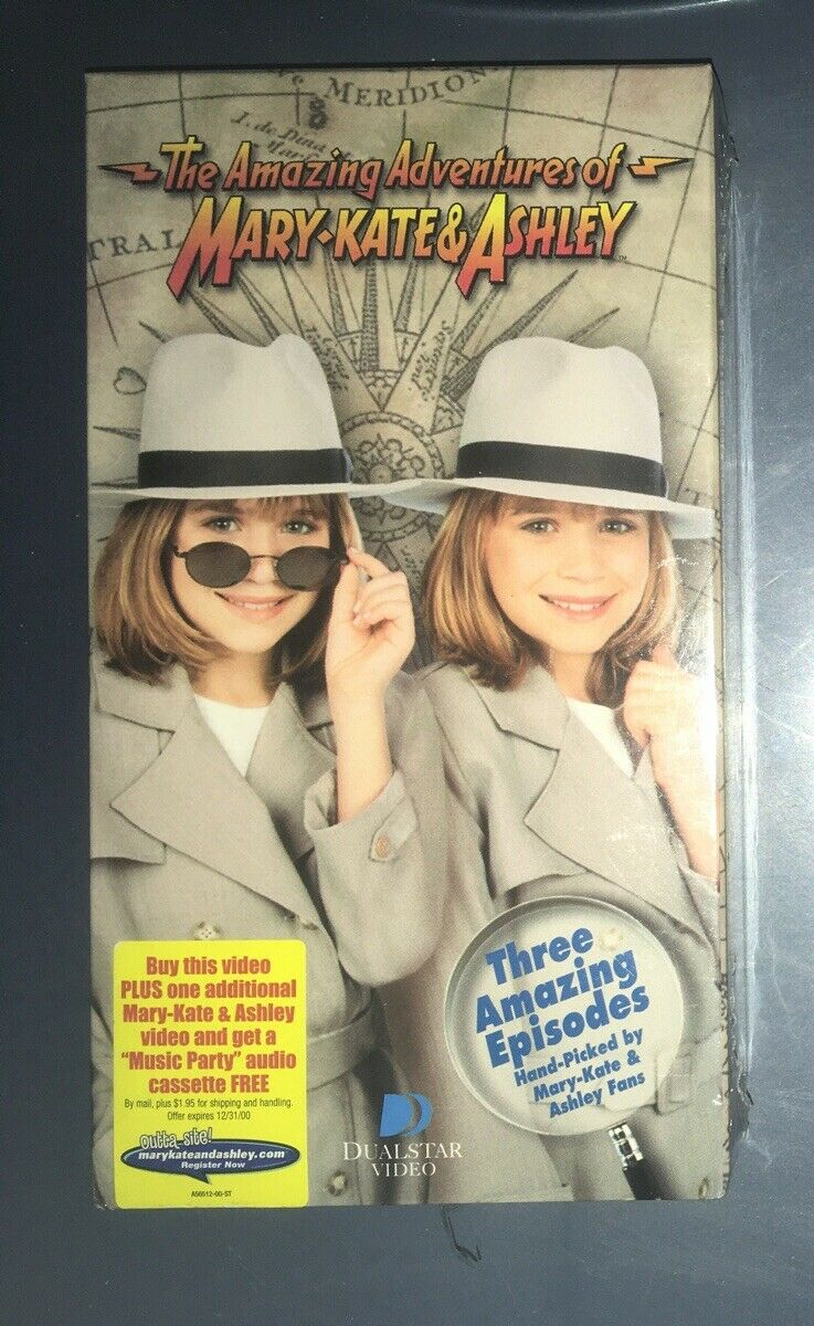 The Amazing Adventures of Mary-Kate & Ashley (2000 VHS)