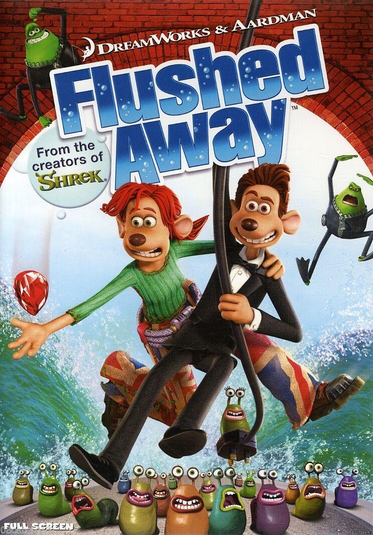 Flushed Away (2007 DVD)