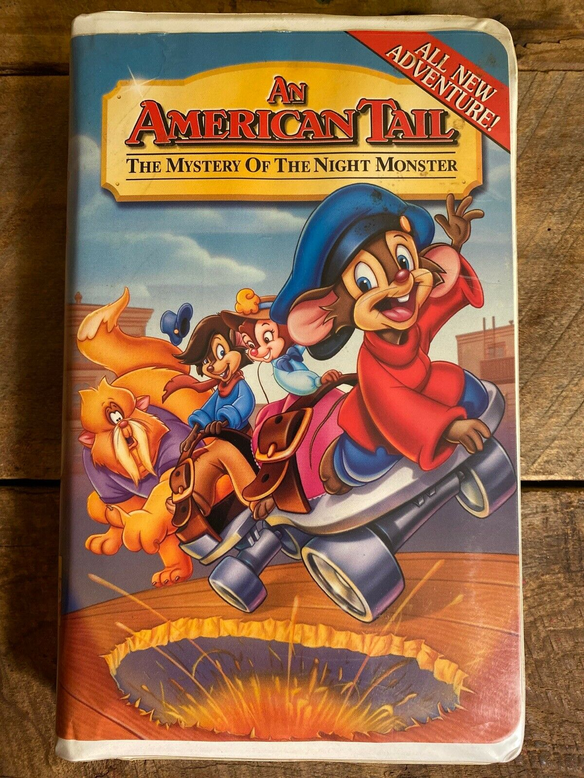 An American Tail: The Mystery of the Night Monster (2000 VHS)