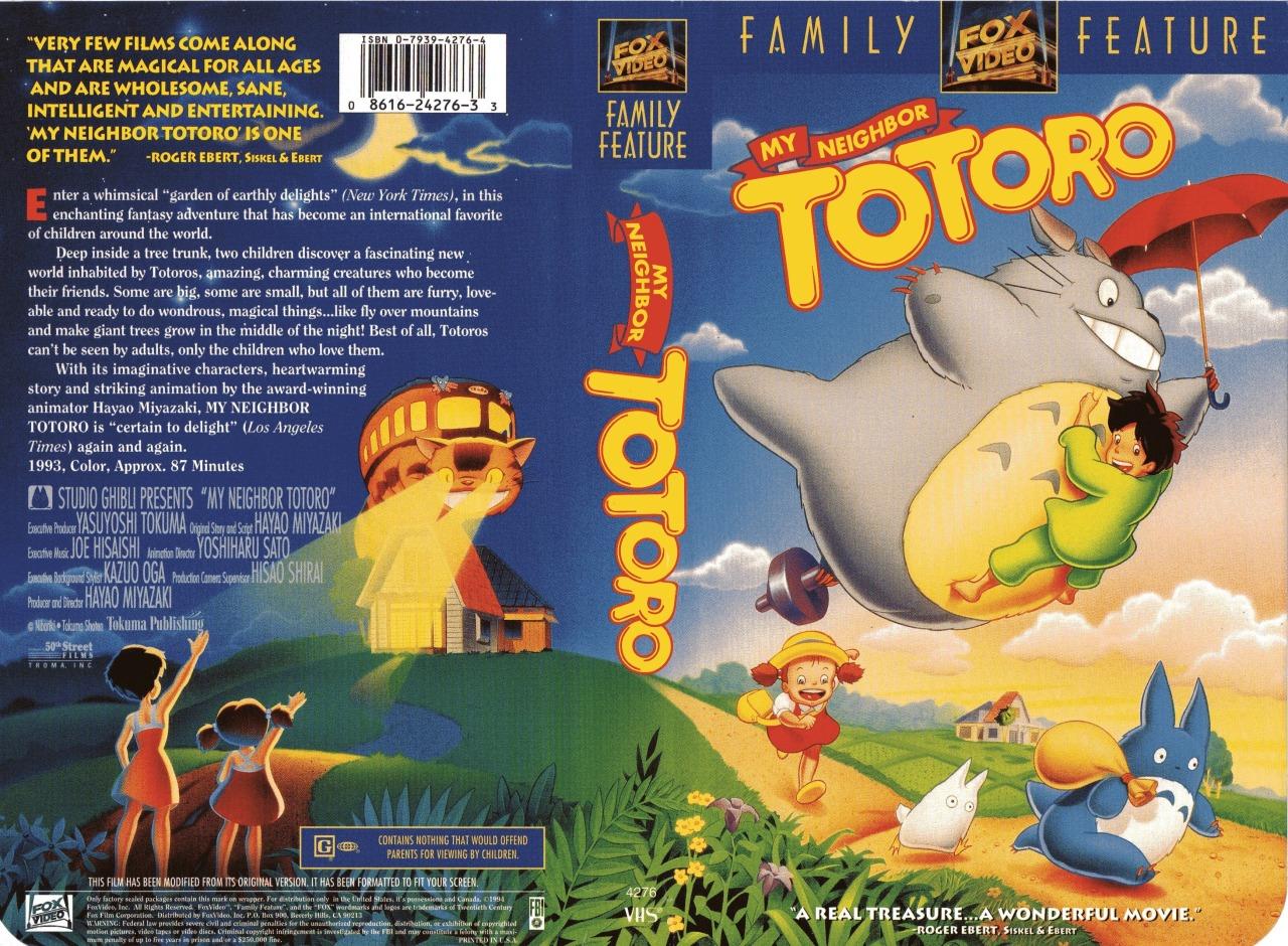 My Neighbor Totoro (1994 VHS)