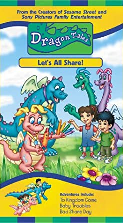 Dragon Tales: Let's All Share! (2000 VHS)