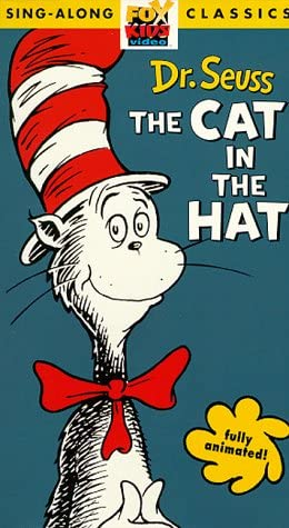 Dr. Seuss The Cat In The Hat (1985-1998 VHS)