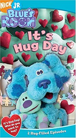 Blue's Room: It's Hug Day (2005 VHS)