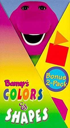 Barney's Colors & Shapes (VHS)