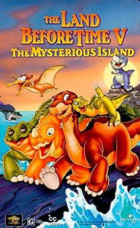 The Land Before Time V: The Mysterious Island (1997 VHS)