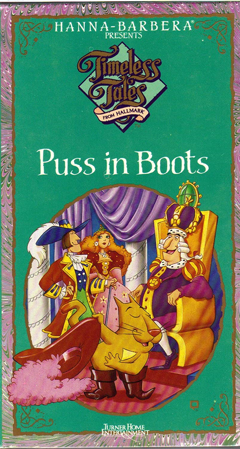 Timeless Tales from Hallmark: Puss in Boots (1991-2000 VHS)