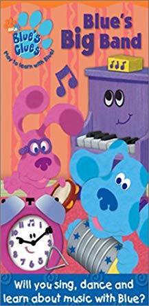 Blue's Clues: Blue's Big Band (2003 VHS)