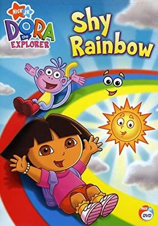 Dora the Explorer: Shy Rainbow (2007 DVD)