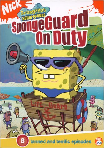 SpongeBob SquarePants: SpongeGuard on Duty (2004 DVD)