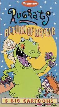 Rugrats: Return of Reptar (1997 VHS)