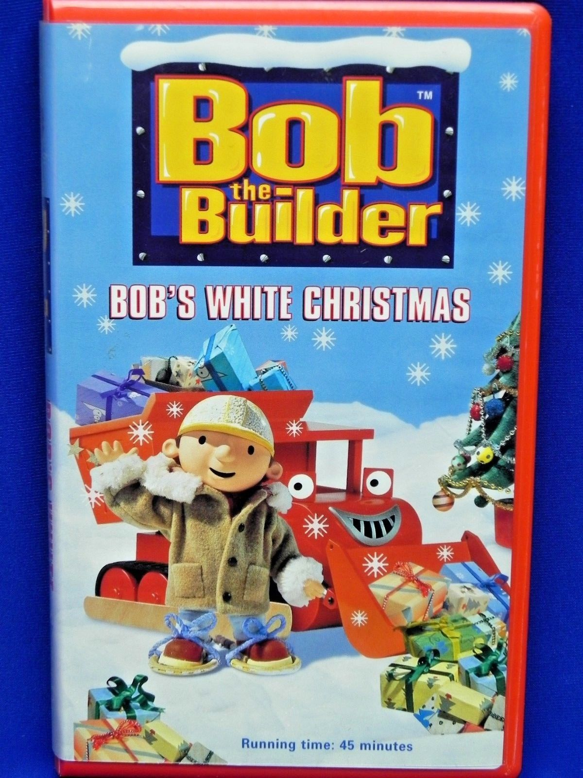 Bob the Builder: Bob's White Christmas (2001-2002 VHS)