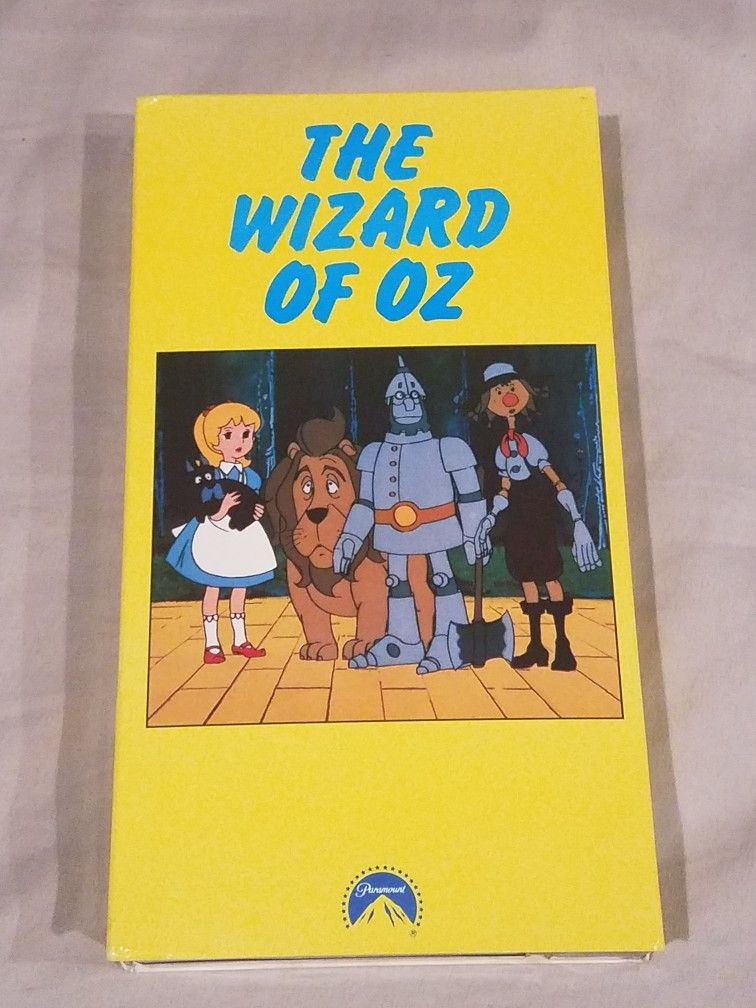 The Wizard of OZ (Anime 1982) (1982-1991 VHS)