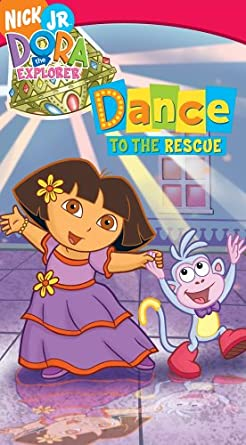 Dora the Explorer: Dance to the Rescue (2005 VHS)
