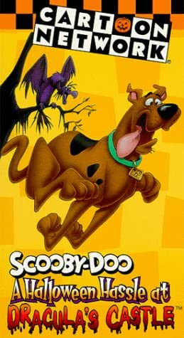 Scooby-Doo: A Halloween Hassle at Dracula's Castle (1996-2001 VHS)