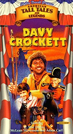 Shelley Duvall's American Tall Tales & Legends: Davy Crockett (1998 VHS)