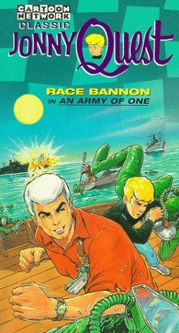 Classic Jonny Quest: Race Bannon in An Army of One (1996 VHS)
