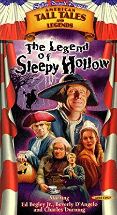 Shelley Duvall's American Tall Tales: The Legend of Sleepy Hollow (1998 VHS)