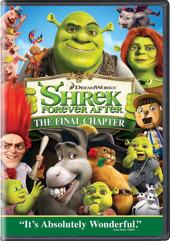 Shrek Forever After (2010 DVD)