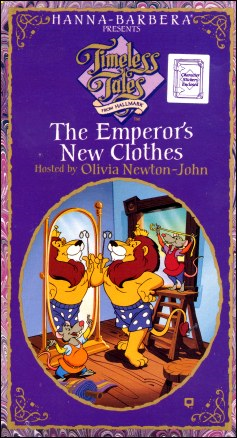 Timeless Tales from Hallmark: The Emperor's New Clothes (1990-2000 VHS)