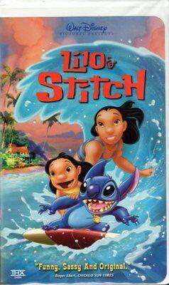 Lilo & Stitch (2002 VHS)
