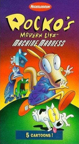 Rocko's Modern Life: Machine Madness (1997 VHS)