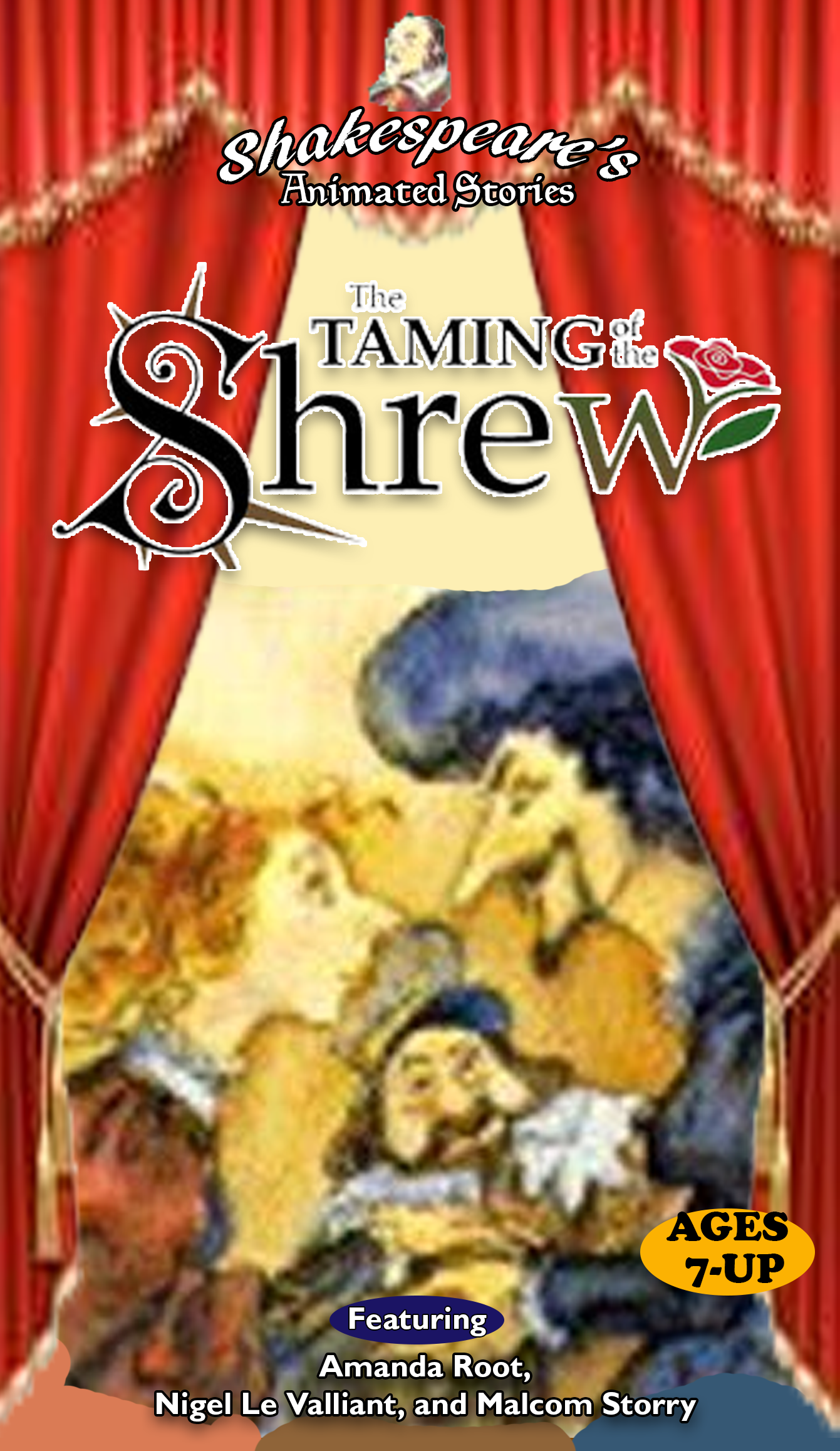 Shakespeare's Animated Stories: The Taming of the Shrew (1998 VHS)