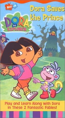 Dora the Explorer: Dora Saves the Prince (2002 VHS)
