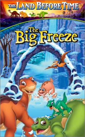 The Land Before Time: The Big Freeze (2001 VHS)