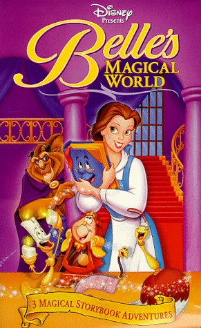 Belle's Magical World (VHS)