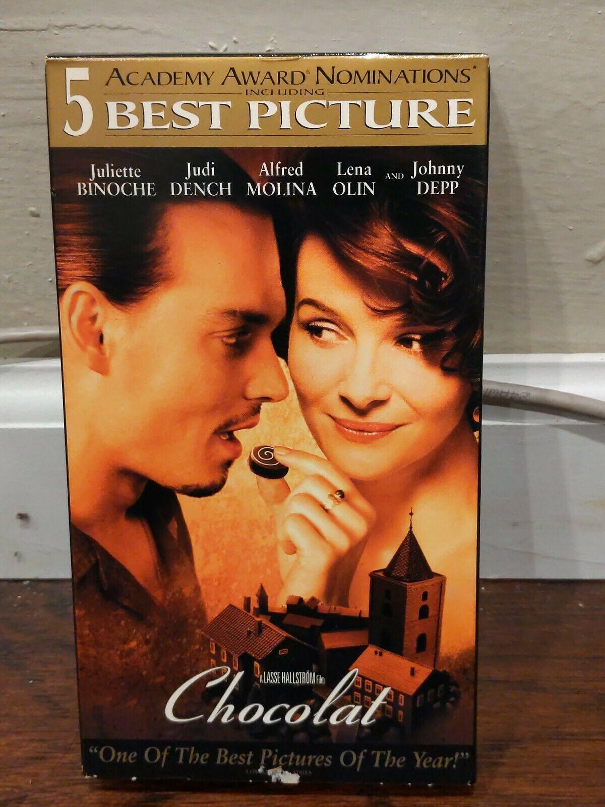 Chocolat (2001 VHS)