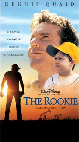 The Rookie (2002 VHS/DVD)
