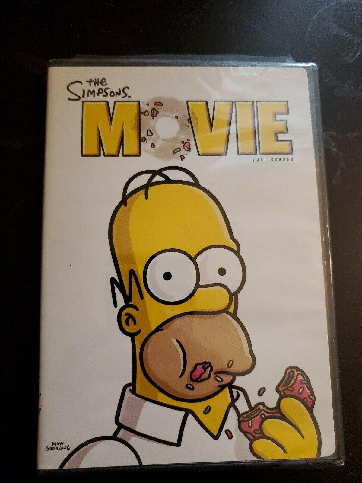 The Simpsons Movie (2007 DVD)