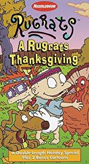 Rugrats: A Rugrats Thanksgiving (1997 VHS)