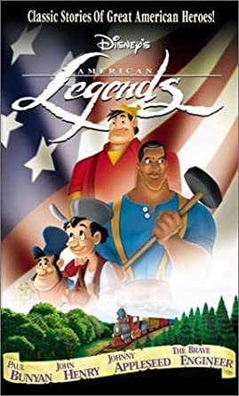 Disney's American Legends (2002 VHS/DVD)