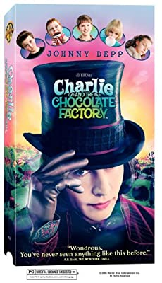 Charlie and the Chocolate Factory (2005 VHS)