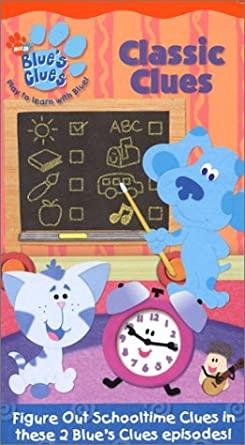 Blue's Clues: Classic Clues (2004 VHS)