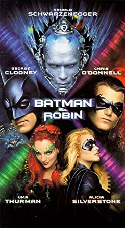 Batman and Robin (1997-2000 VHS)