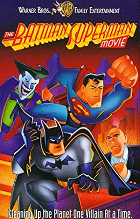 The Batman Superman Movie (1998-2002 VHS)