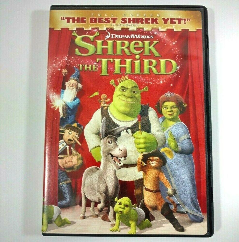 Shrek The Third 2007 Dvd Angry Grandpa S Media Library Wiki Fandom