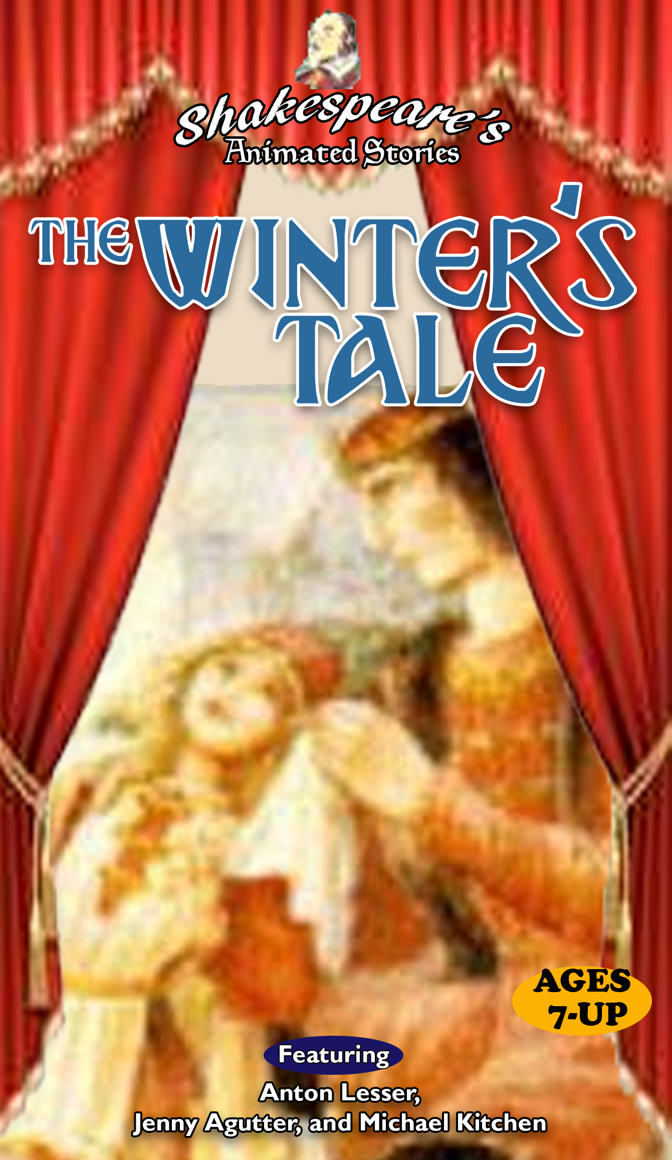 Shakespeare's Animated Stories: The Winter's Tale (1998 VHS)